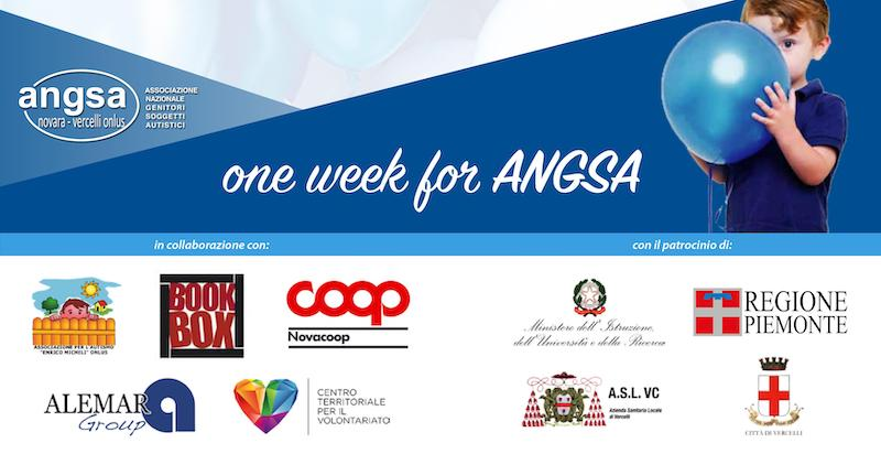 ONE WEEK FOR ANGSA 2019 VERCELLI