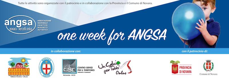 ONE WEEK FOR ANGSA 2019 NOVARA