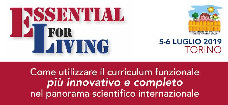 ESSENTIAL FOR LIVING - Workshop con il Dr. Patrick McGreevy